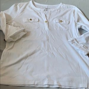 2/$10 NWOT charter club Pima cotton long sleeve